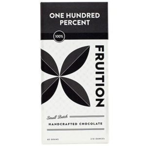 fruition 100% chocolade honderd procent puur fruition