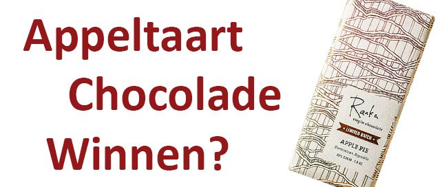 win appeltaart chocolade prijsvraag