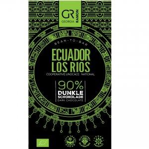 fairtrade biologische ecuador chocolade glutenvrij weinig suiker los rios