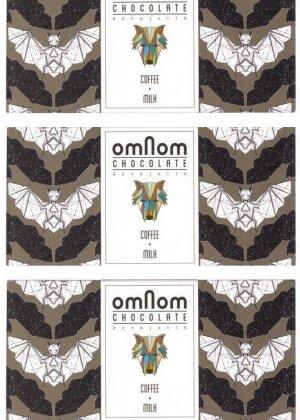 omnom milk chocolate with coffee