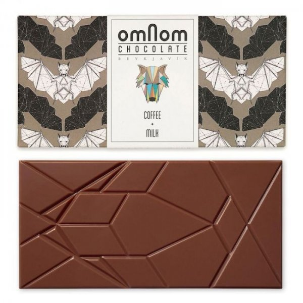 omnom coffee milk chocolate with coffee included icelandic
