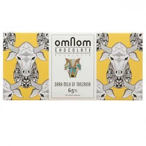 omnom chocolate bar tanzania dark milk
