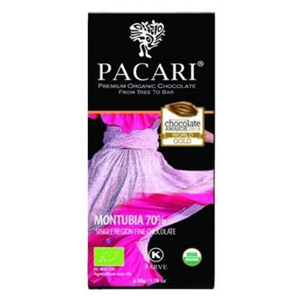 pacari montubia chocoladereep biologisch chocolate awards winnaar