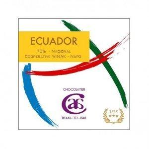 alexandre bellion chocolatier atelier bean to bar chocolade van cacao uit ecuador