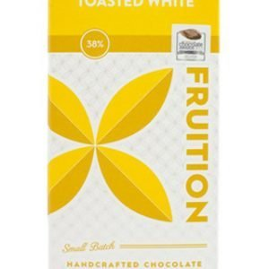 fruition geroosterde witte chocolade bean to bar uit new york