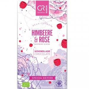 frambozen rozen chocolade een mooie geschenk zoete traktatie