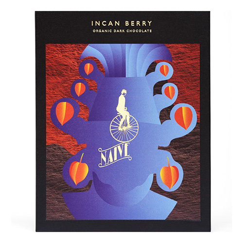 incan berry golden berry dark chocolate fruit naive