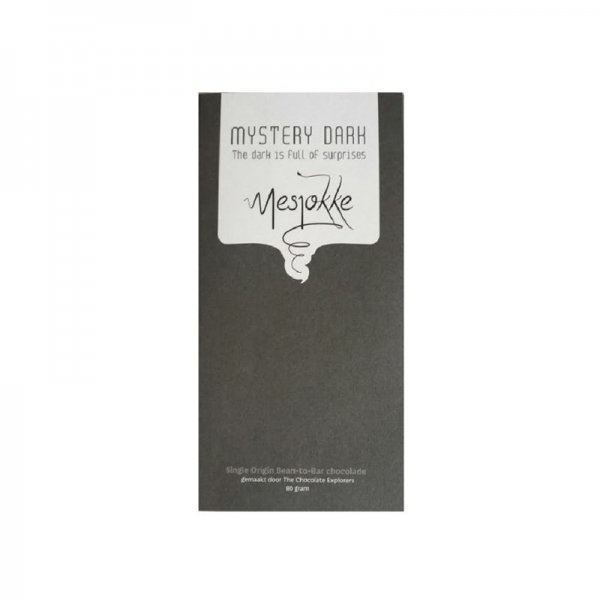 40 grams mesjokke mystery dark chocolate bar