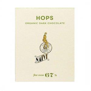 pure chocolade met hop van naive