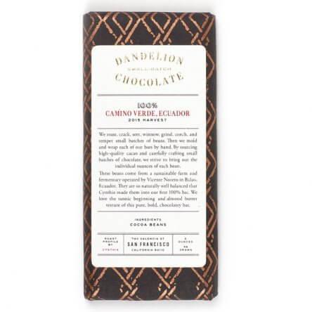 Dandelion – Ecuador 100%