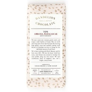 dandelion madagaskar 70% akesson ambanja bean to bar