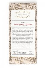 dandelion small batch craft chocolate tanzania 70% 2014 harvest