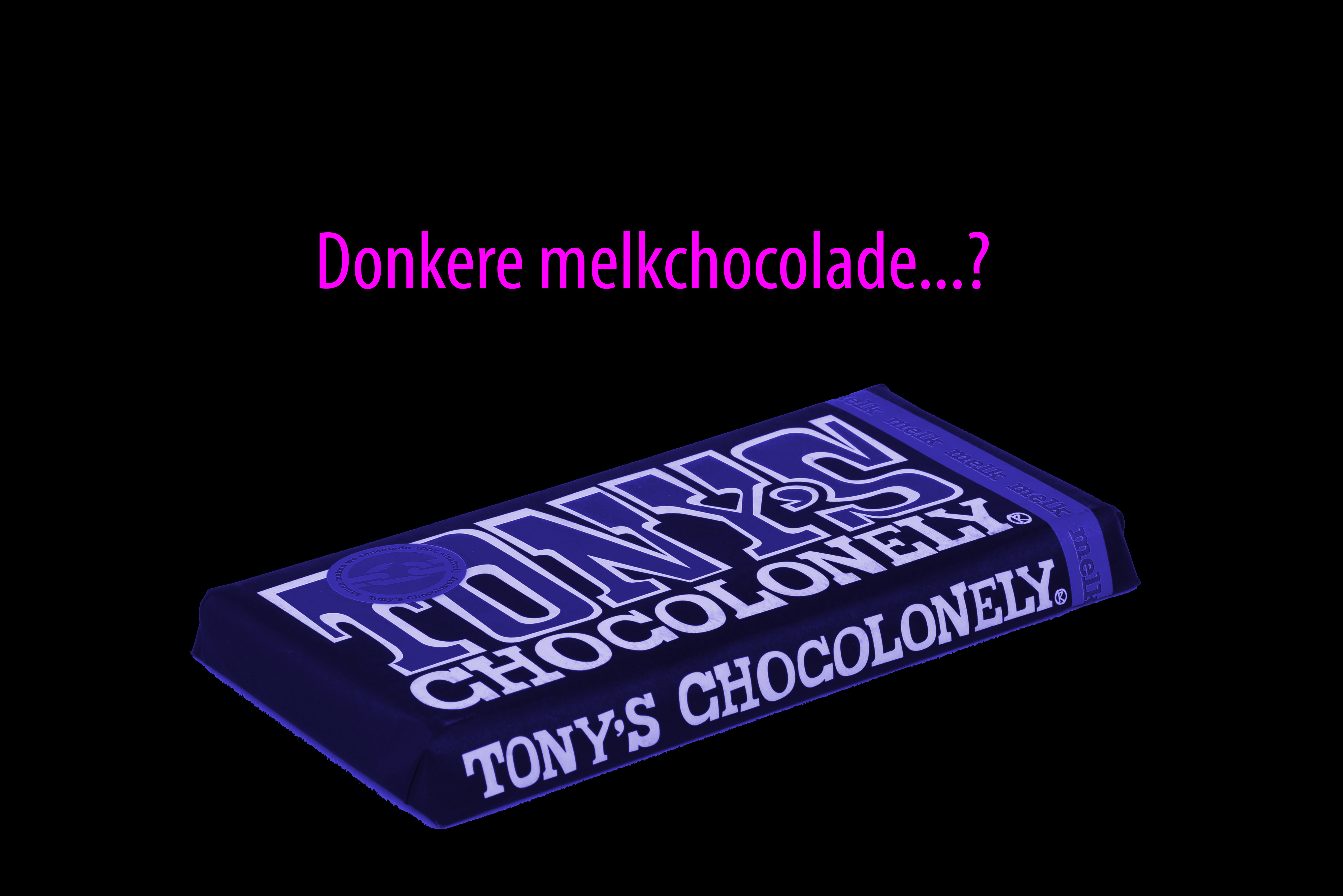 wat is donkere melkchocolade tony's chocolonely percentage cacao 50 42 bean to bar cacao