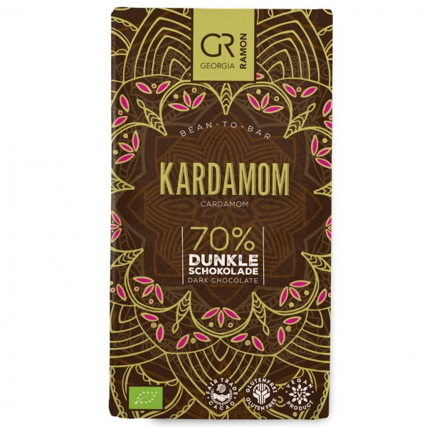 georgia ramon dark chocolate with cardamom