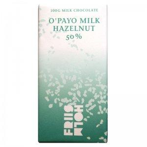 friis holm o payo melk hazelnoot chocolade