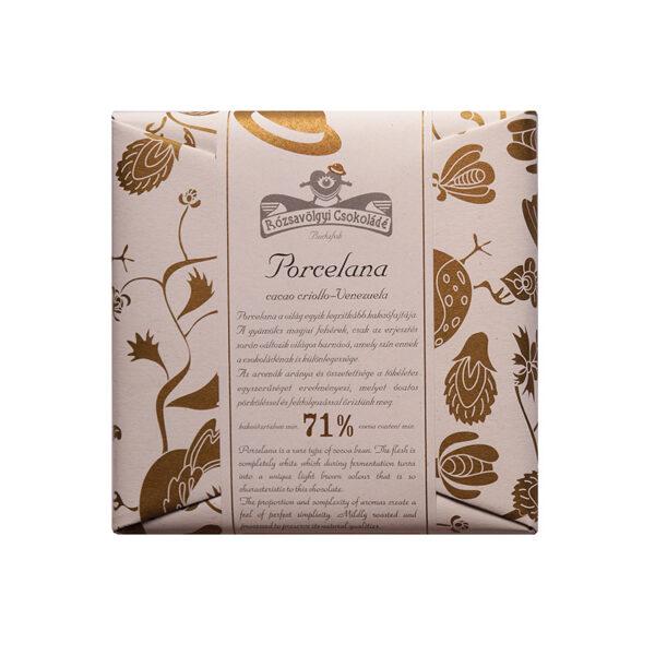 rozsavolgyi hongaarse bean to bar chocolade van porcelana criollo cacao uit venezuela