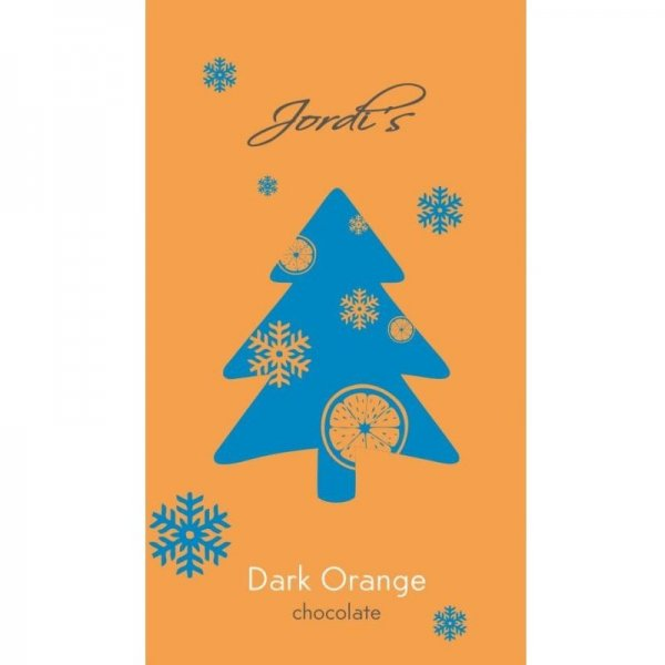 jordi's chocolate puur sinaasappel met gekarameliseerde sinaasappelschil kerst feestdagen chocolade