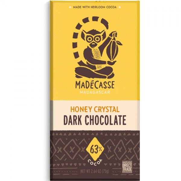 madecasse chocolate dark with honey crystals madagascar made in africa