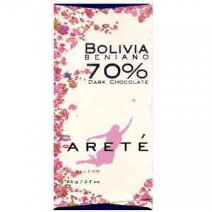 areté bolivia craft chocolate bean to bar chocolade gemaakt in de USA eerlijk puur lekker