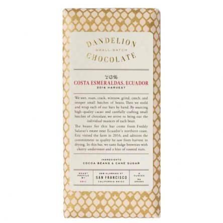Dandelion Costa Esmeraldas 70%
