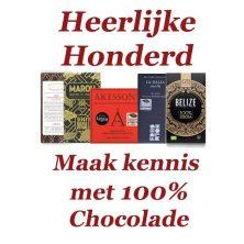 Heerlijke Honderd – Maak kennis met 100% chocolade