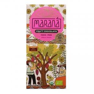 marana cusco chuncho 70 peru origine chocoladereep biologisch fair directy trade
