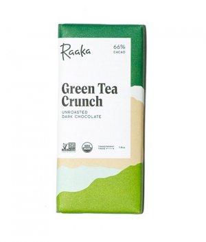 raaka groene thee crunch
