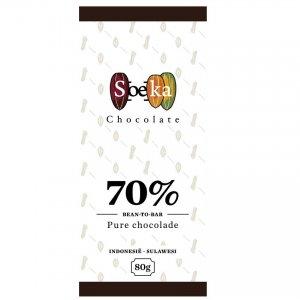 soeka chocolade bean to bar uit berg en dal lokaal met cacao uit indonesie