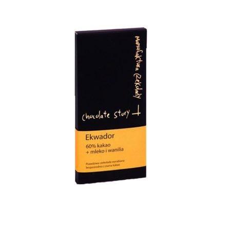 Chocolate Story – Ecuador 60% Melk & Vanille