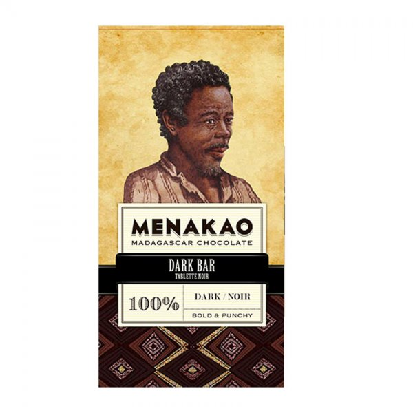 menakoa 100% chocolate from madagascar dark sugarfree chocolate