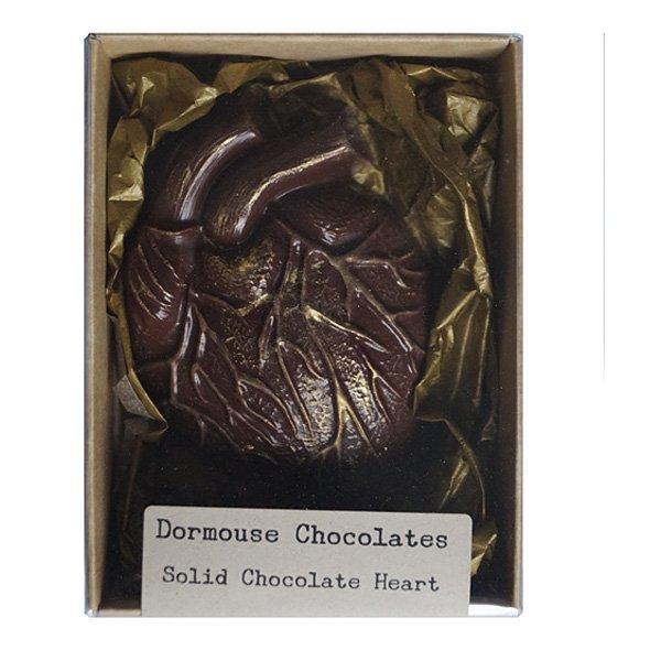 dormouse chocoladehart melkchocolade hart anatomisch prachtig