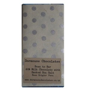 dormouse peru 60 melk met gerookt zeezout bean to bar chocolade