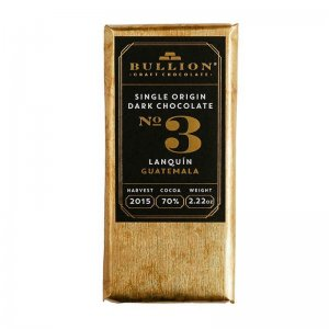 bullion 3 guatemala chocolade 70% bullion craft chocolate