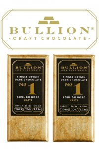 bullion chocolade craft chocolate uit verenigd koninkrijk puur