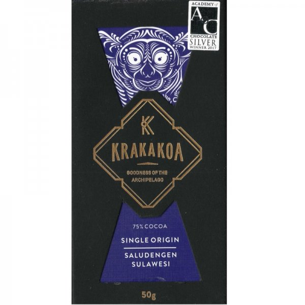 krakakoa indonesie sulawesi single origin chocolade