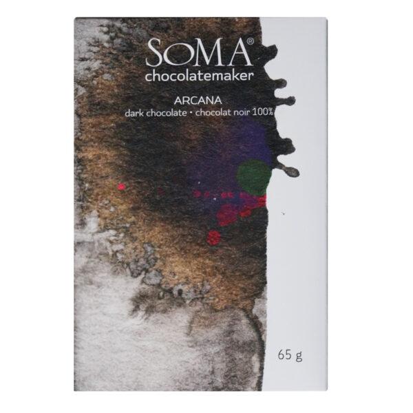 soma arcana 100 procent chocolade cacao venezuela origine blend