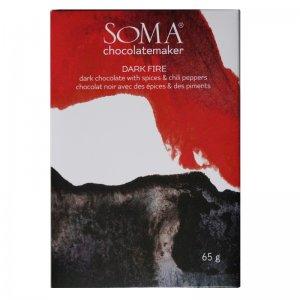 soma dark fire chocolade met specerijen kruiden pittig kruidig