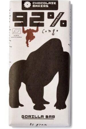 chocolatemakers gorilla bar extra puur 92%