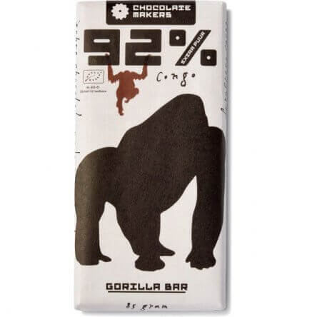 Chocolatemakers 92% Gorilla Extra Puur