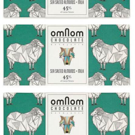 Omnom Gezouten Amandel + Melk