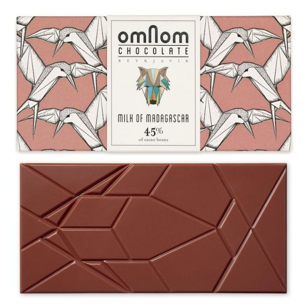 omnom madagaskar melkchocolade origine kwaliteit kraanvogels