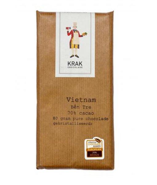 vietnam ben tre van krak chocolade mark schimmel bean to bar uti nederland