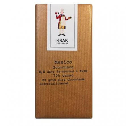 Krak 70% Mexico Single Turn – 5 day ferment