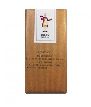 krak mexico soconusco chocolade van cacao die 4.5 dagen fermentatie heeft ondergaan