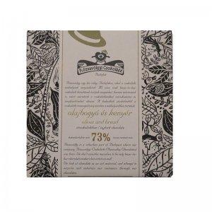 rozsavolgyi chocolade met brood en olijven olijfolie tarwe geroosterd