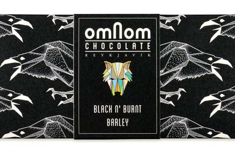 zwarte chocolade omnom black n burnt barley