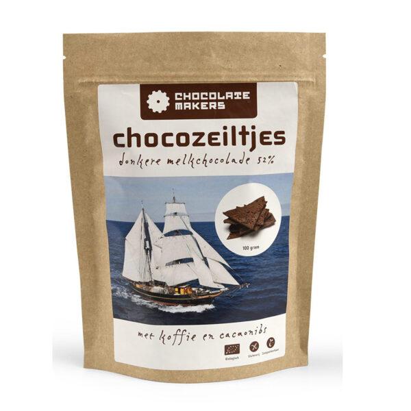 chocozeiltjes tres hombres chocolatemakers amsterdam koffie cacaonibs biologisch eerlijk fair duurzaam bean to bar