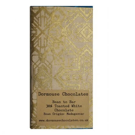 Dormouse Geroosterde witte chocolade