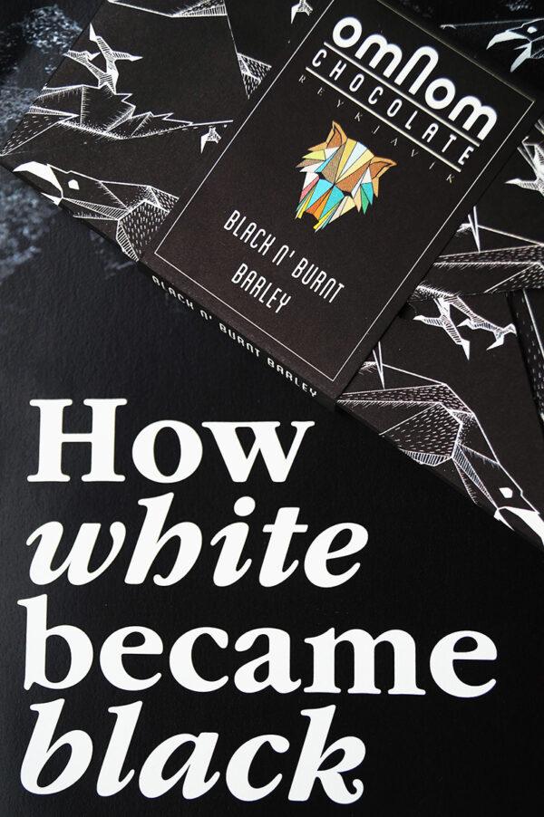 hoe witte chocolade zwart werd