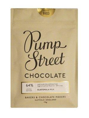 pump street bakery melkchocolade guatemala